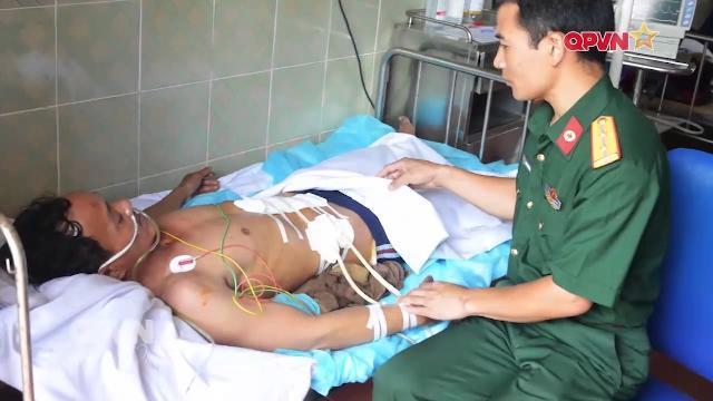 Bệnh xá đảo Nam Yết Trường Sa mổ cấp cứu khẩn cấp ngư dân
