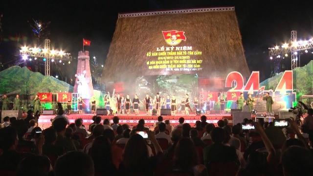 Kon Tum kỷ niệm 45 năm ngày chiến thắng Đác Tô - Tân Cảnh
