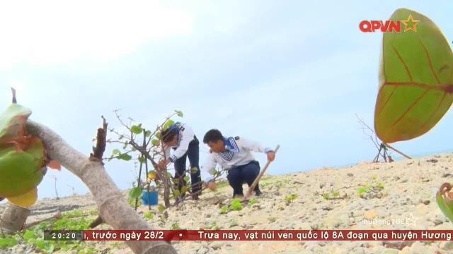 Thời sự Quốc phòng Việt Nam ngày 23/2/2018: Tết trồng cây ở Đảo Trường Sa