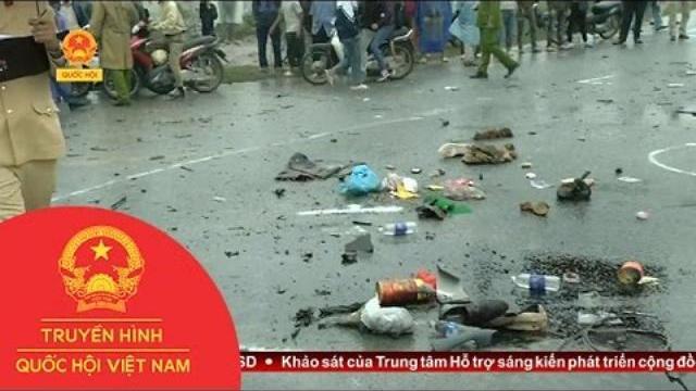 Thời sự - Kết nối Phóng viên Tiến Cường về vụ tai nạn tại Kim Bảng, Hà Nam