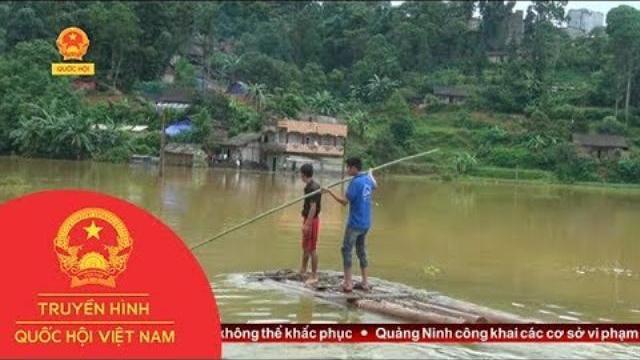 Khắc phục hậu quả mưa lũ tại Lào Cai | Thời Sự | THQHVN