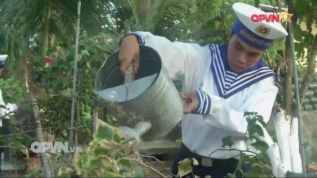 Những chiến sĩ trẻ Hải quân giữ màu xanh cho Trường Sa