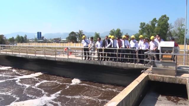Quảng Nam đưa nhà máy xử lý nước thải khu công nghiệp, hậu cần cảng Tam Hiệp vào hoạt động