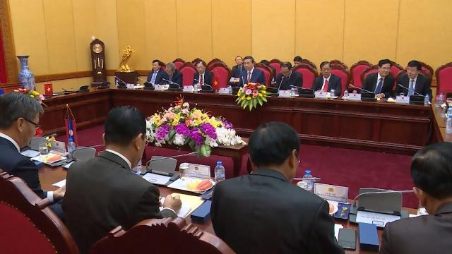Thúc đẩy quan hệ hợp tác giữa Bộ Công an Việt Nam và Bộ An ninh Lào