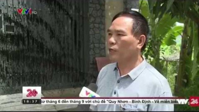 Tin Tức VTV24 - Ngày 05/04/2017: Hiện Tượng Tạt Sơn Đen Lên Cửa Ở TP. Hồ Chí Minh