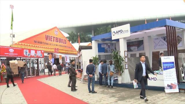 Tin Tức 24h: Khai mạc Triển lãm quốc tế Vietbuild lần thứ nhất 2017
