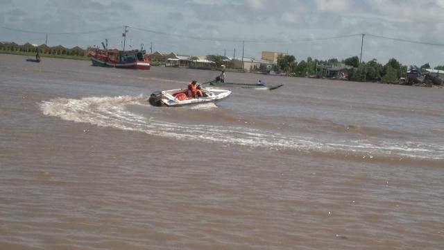Ủy ban ATGT Quốc gia khảo sát khu vực vụ chìm tàu ở Bạc Liêu