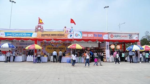 Phú Thọ khai mạc Hội sách Đất Tổ - Lễ hội Đền Hùng 2017