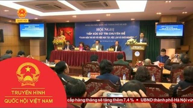 Thời sự - Thủ đô Hà Nội tạo điều kiện cho sinh viên khởi nghiệp