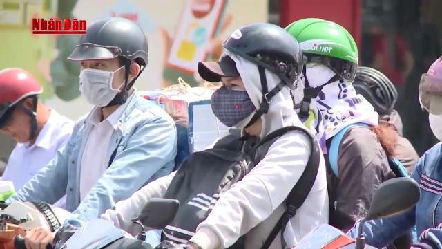 Nắng nóng, nhiệt độ tăng cao ảnh hưởng đến đời sống người dân