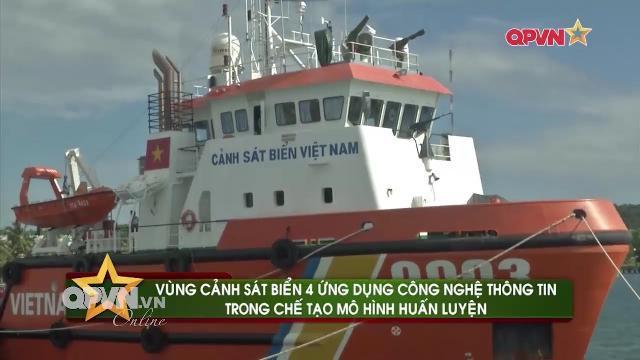 Cảnh sát biển Vùng 4 ứng dụng CNTT làm chủ vũ khí, khí tài hiện đại