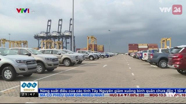 Thuế giảm, ô tô ùn ùn nhập qua cảng Tp.HCM | VTV24