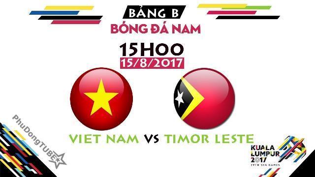 [SEA Games 29] U22 Việt Nam vs U22 Timor Leste | Thông tin trước trận đấu