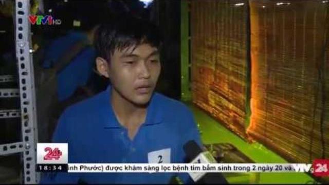 Cuộc thi múa rối nước bằng robot tại TP. Hồ Chí Minh | VTV24