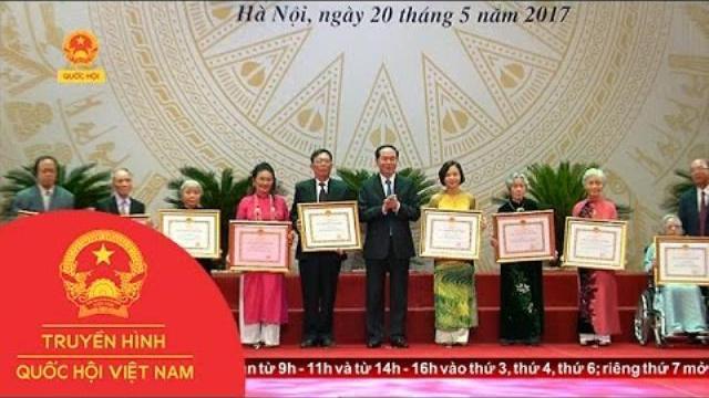 Chủ tịch nước dự lễ trao giải thưởng Hồ Chí Minh và giải thưởng Nhà nước về Văn học nghệ thuật
