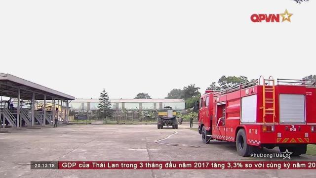 Phòng chống cháy nổ tại các kho xăng dầu chiến lược của Quân đội