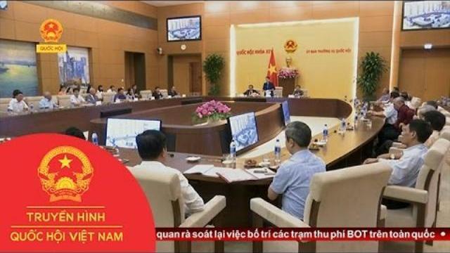 Chủ tịch Quốc hội gặp mặt Ban thường vụ Tỉnh ủy Yên Bái các thời kỳ   Thời Sự   THQHVN  