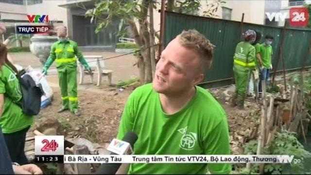 Tiêu điểm: Những người nước ngoài làm đẹp cho Hà Nội | VTV24