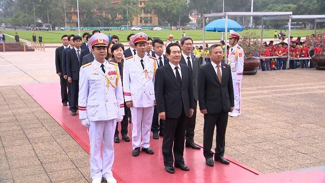 Tin Thời Sự Hôm Nay (11h30 - 25/4/2017): Chủ Tịch Quốc Hội Hàn Quốc Thăm Chính Thức Việt Nam