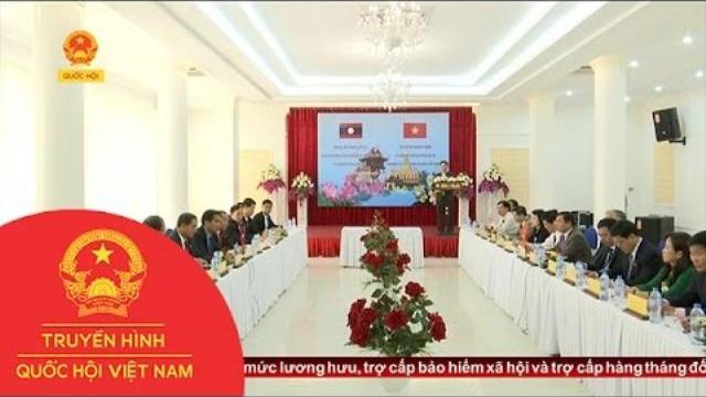 Thời sự - Hội nghị trao đổi kinh nghiệm giữa HĐND tỉnh Quảng Trị và tỉnh Bolykhamxay Lào