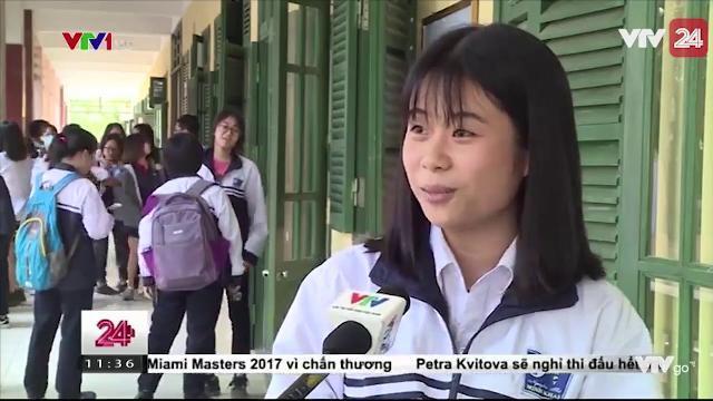 ÁP LỰC CỦA CẢ THẦY VÀ TRÒ TRONG MÔN THI TỔ HỢP TẠI KỲ THI THỬ THPT QUỐC GIA | VTV24