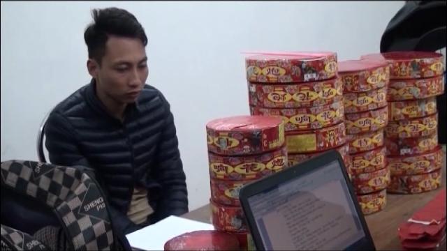 Quảng Ninh bắt giữ vụ buôn bán lậu 22 kg pháo qua biên giới