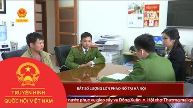 Thời sự - Bắt số lượng lớn pháo nổ tại Hà Nội