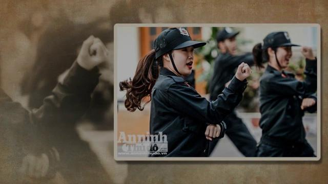 Ngày 8/3 của nữ cảnh sát đặc nhiệm cơ động thủ đô