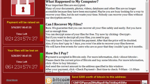Mã độc tống tiền WannaCry ảnh hưởng ' toàn cục' thể giới