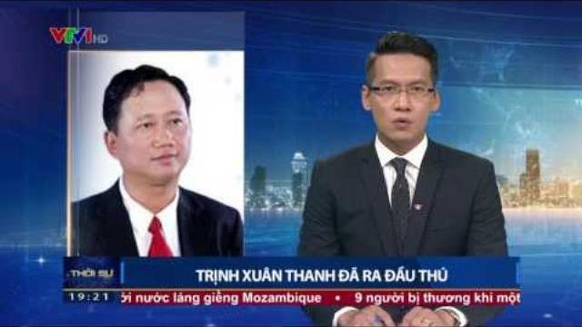 Trịnh Xuân Thanh đã ra đầu thú