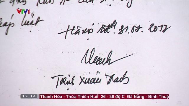 Trịnh Xuân Thanh ' Tôi đã ra đầu thú'