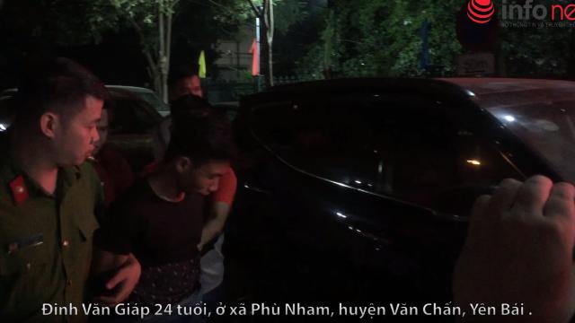 Di lý 2 nghi phạm sát hại tài xế Grab về Hà Nội trong đêm -.mp4