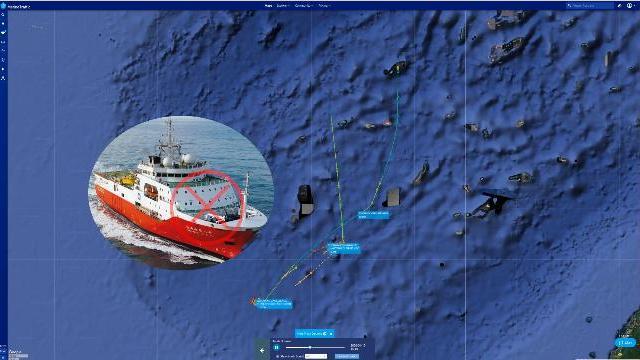 Tàu Trung Quốc quần thảo ở bãi Luconia gần bờ biển Malaysia ?