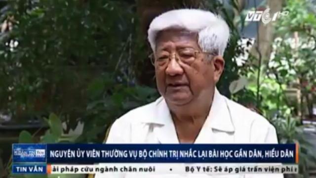 Ông Phạm Thế Duyệt nói về bài học gần dân, hiểu dân