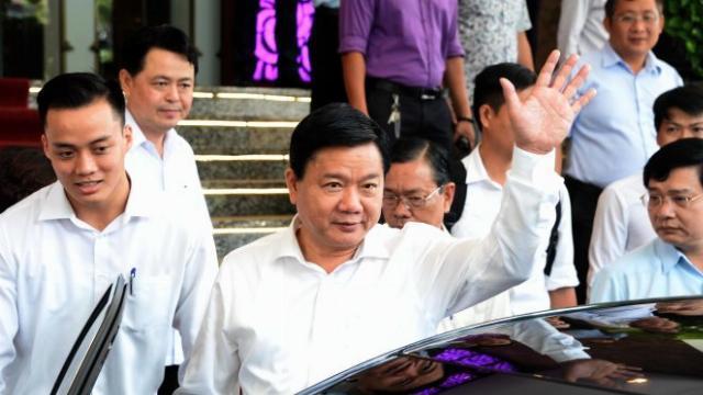 Ông Đinh La Thăng phát biểu chia tay TP.HCM