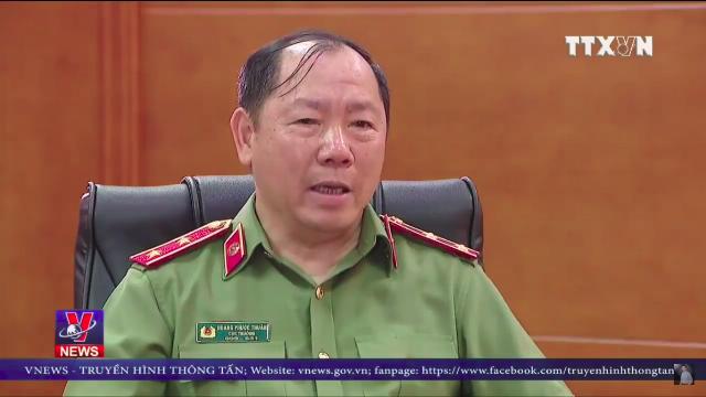 Trung tướng Hoàng Phước Thuận thông tin thêm về luật An ninh mạng