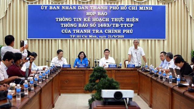 Sai phạm Thủ Thiêm UBND TPHCM xin lỗi người dân