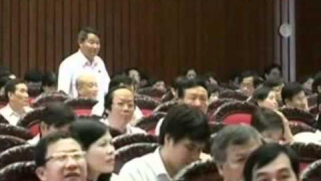 Bộ trưởng Bộ Công an Trần Đại Quang trả lời chất vấn trước Quốc hội