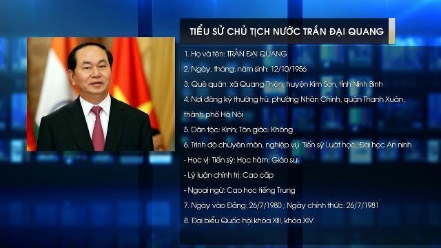 Tiểu Sử Chủ Tịch Nước Trần Đại Quang: Chủ Tịch Nước Cộng Hòa Xã Hội Chủ Nghĩa Việt Nam