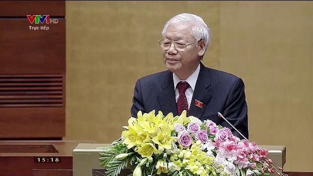 Toàn bộ Lễ tuyên thệ nhậm chức và tâm sự của Chủ tịch nước Nguyễn Phú Trọng