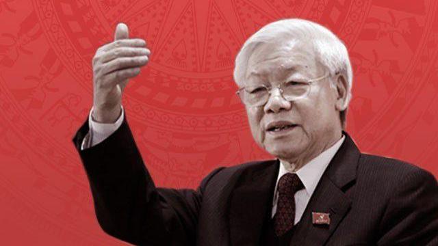 Tổng bí thư Nguyễn Phú Trọng nói về sự suy thoái tư tưởng chính trị. Lời nói tựa ngàn cân