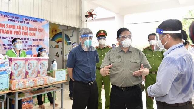 Thủ tướng thử hệ thống y tế khẩn cấp ở TP.HCM
