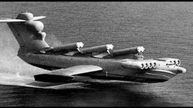 Thủy phi cơ kỳ quái của Nga