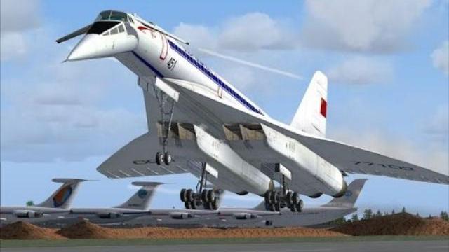 Máy bay siêu phản lực của Nga TU-144 đầu tiên trên thế giới, một kiệt tác thiên đường