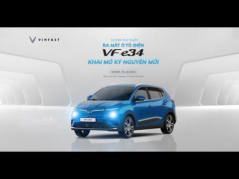 Ra mắt ô tô điện thông minh đầu tiên của Vinfast