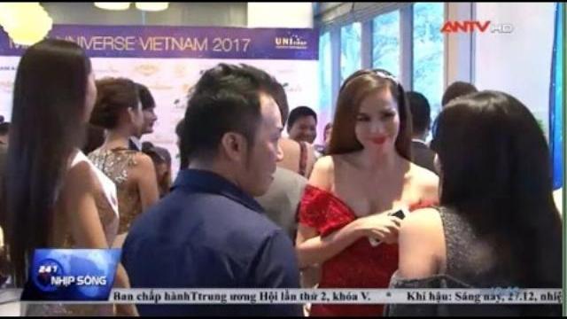 Dàn Hoa hậu xúng xính váy áo, đọ sắc trong họp báo HHHV 2017