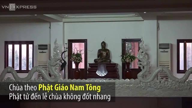 Ngôi chùa không nhang khói lớn nhất Sài Gòn