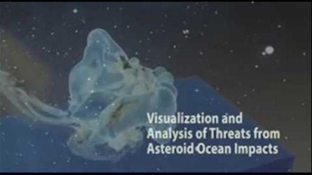 """Điều xảy ra khi thiên thạch """"khủng"""" lao xuống đại dương"""