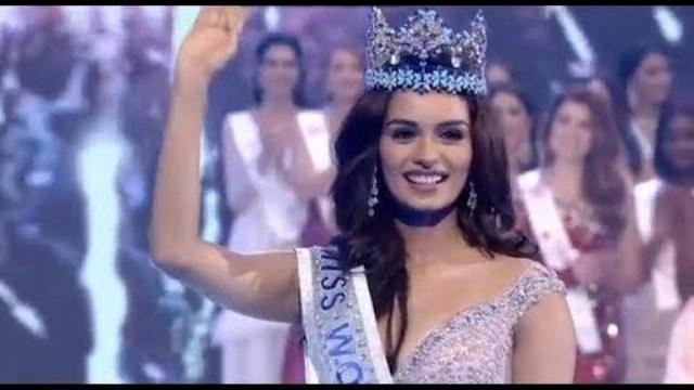 (FINAL) Giây phút người đẹp Ấn Độ Manushi Chhillar đăng quang Miss World 2017
