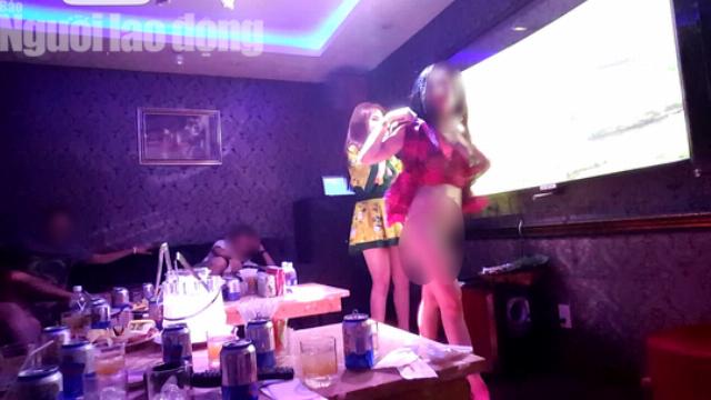 """VIDEO điều tra: Thác loạn """"Lầu xanh quán"""" giữa trung tâm Sài Gòn"""